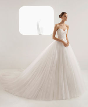 Poročna obleka Aixa