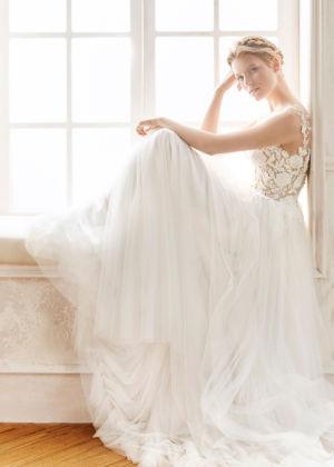Poročna obleka Barcino