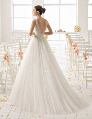 Poročna obleka Basil