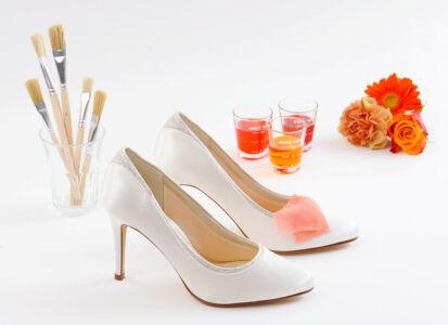 Čevlji in barvni vzorec