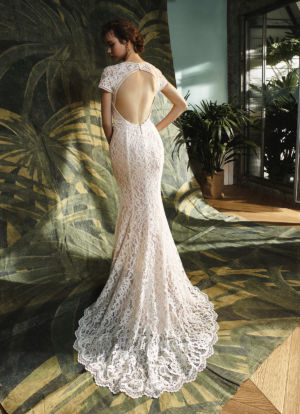 Poročna obleka Keaton