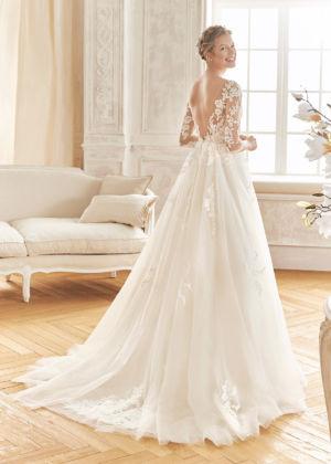 Poročna obleka Bosque