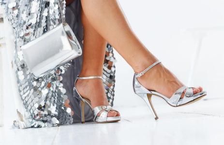 Dafnee in čevlji Cate (Silver Mirror)