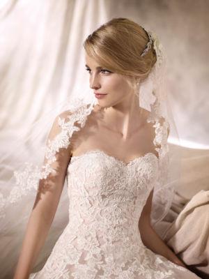 Poročn obleka Helenka