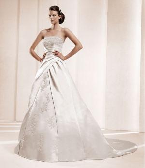 Poročna obleka Delami