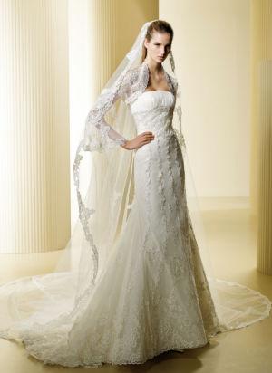 Poročna obleka Fano
