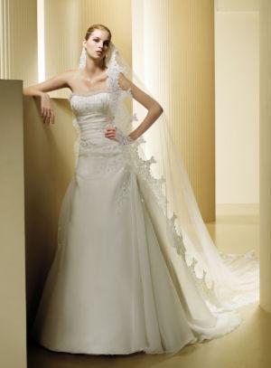 Poročna obleka Fina