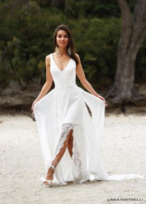 Poročna obleka Linea 180-019