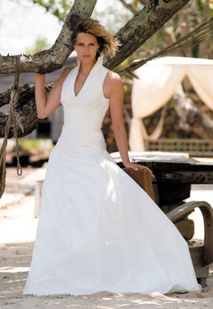 Poročna obleka Cara